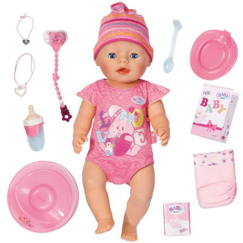 Born Baby Bebé Funciona InteractivoCasi Un Real¿cómo ZukTOiPX