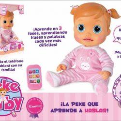 muñeca pekebaby emma