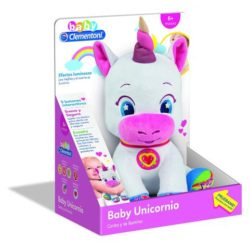 unicornio interactivo clementoni baby
